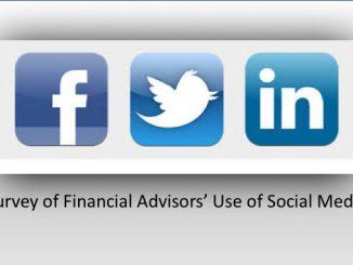 best financial advisors use social media