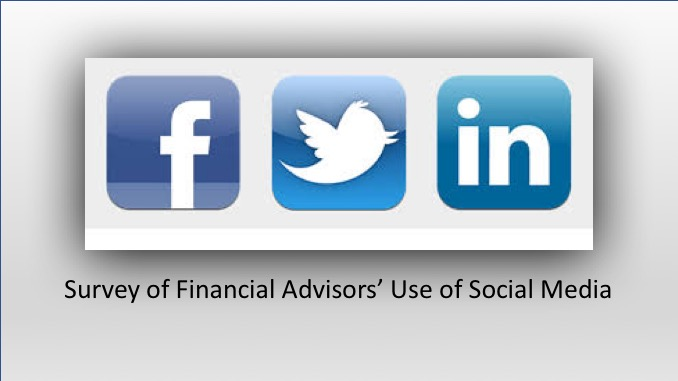 best financial advisors use social media