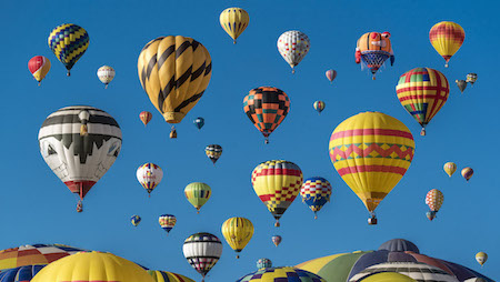 increasing u.s. inflation and interest rates could rise like hot air balloons